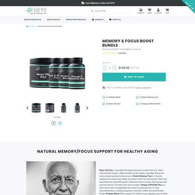 Product Bundles Detail Page