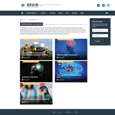 Blog Content Page