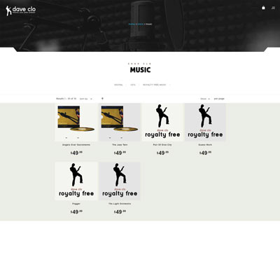 Product Category Page