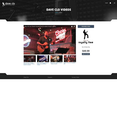 Product Categories Page