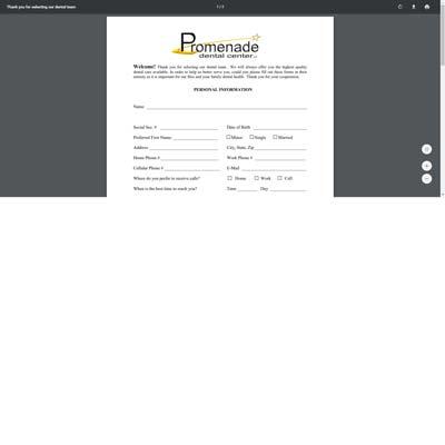 Patient Form Page
