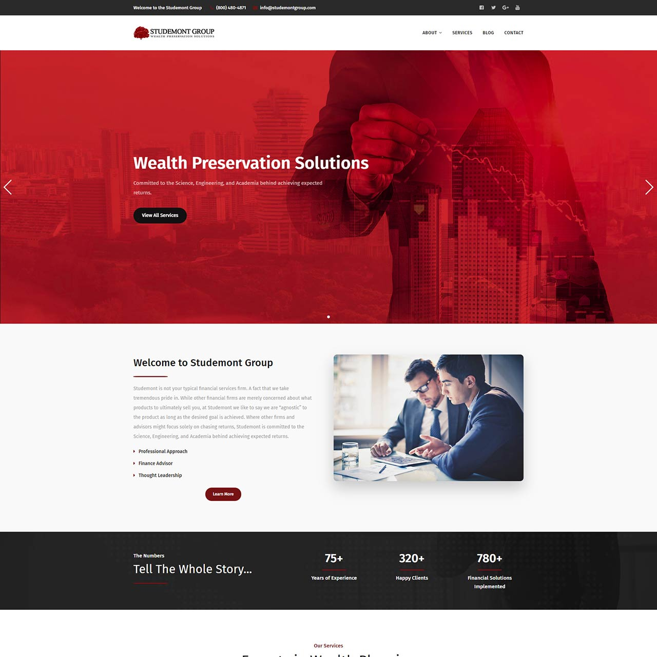 The Studemont Group Homepage